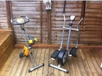 Crosstrainer & exercise bike
