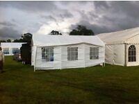 20 X 10 ft gazebo trade tent.