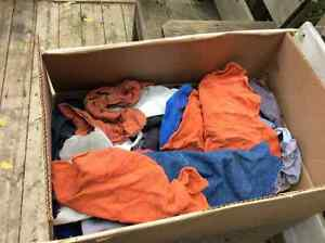 rags large box for shop use