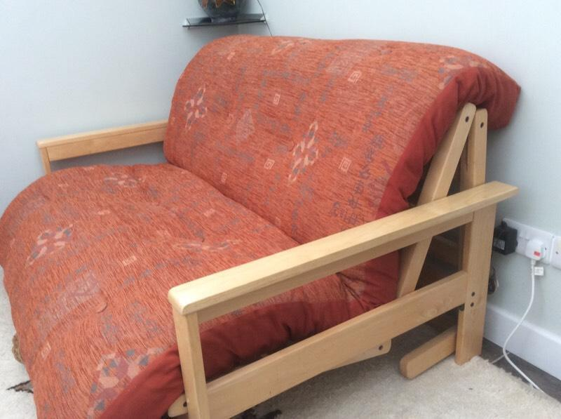 4ft wide futon in christchurch dorset gumtree for Wide sofa bed