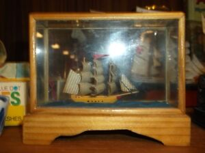 ship in glass box