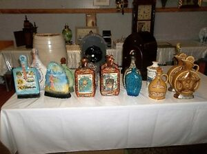 UNIQUE VINTAGE LIQUOR DECANTERS