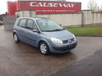 24/7 Trade sales NI Trade prices for the public 2006 Renault scenic 1.6 vvt Oassis motd September 17