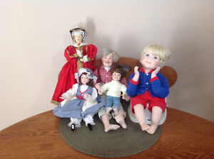 Porcelain Doll Grouping Cornwall Ontario image 1