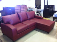 Wow, really?---$399.99up--brand new leather couch/sofa