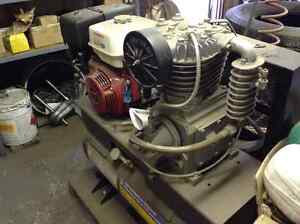Truck mounted compressor --reduced.