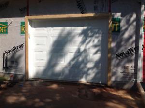 9x7 Garage door