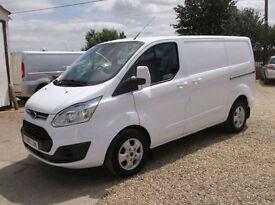 Ford Transit Custom 2.2TDCi ( 125PS ) 2013.5MY 270 L1H1 Limited diesel van