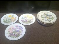 Collection x11 limited edition collectable plates Bradford exchange royal Worcester Albert Wedgwood