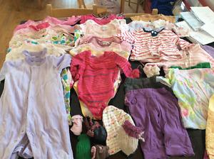 Vêtements fille 3-6 mois