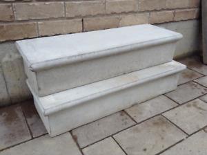 Preformed Concrete Steps
