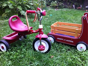 Radio Flyer Wagon & Radio Flyer Tricycle