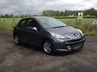 24/7 Trade Sales NI Trade prices for the public 2009 Peugeot 207 1.4 Sport 3 door Grey