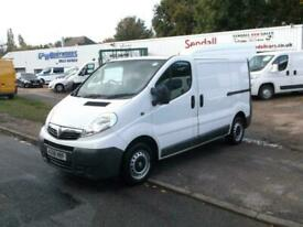 Vauxhall Vivaro 2.0CDTi 2700 SWB,08 REG,WHITE,ONLY 118k,VERY CLEAN VAN,NO VAT