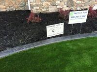Landscape curbing by Arrowhead Custom Curbing