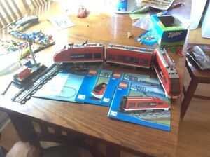 LEGO City-Passenger Train-7938-BATTERY OPERATED with remote