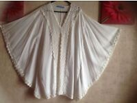 New Solitaire snim ladies butterfly tops size: L/14 new £5