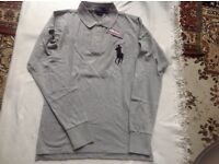 Ralph Lauren men's polo t shirt long sleeves ( faulty) £8