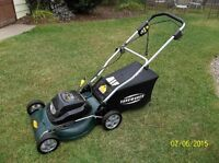 "20"" ELECTRIC LAWN MOWER"