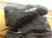 LOOKING FOR SIZE 9-10 ALL BLACK SHOES UNDER $50