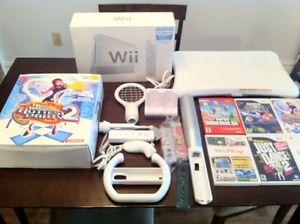 Wii sport + tapis danse + Wii Fit + 6 jeux