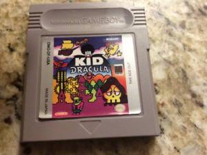 Kid Dracula - GameBoy cartridge
