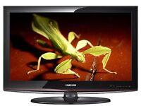 BLACK & RED FRAME SAMSUNG 32 INCH HD TV + REMOTE!