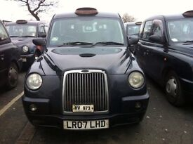 Black cab Hackney taxi 07