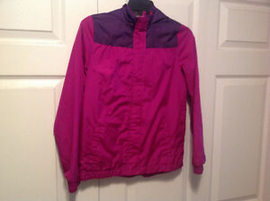 Girls size 10/12 spring/fall jackets pink or purple $10 each