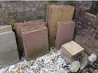50 Patio slabs-£175-Waterlooville