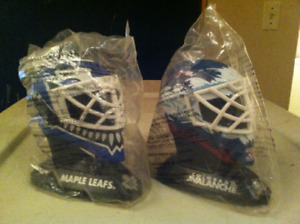 Mid 90's McD's collectible goalie masks for sale