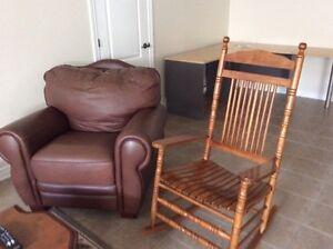 Sofa de cuir