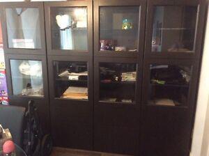 IKEA besta storage cabinet display rangement