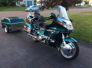 Mint GoldWing bike and trailer package!