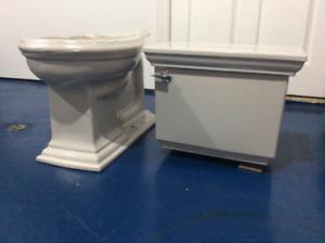 Brand New    Kohler  Ice Grey Toilet.