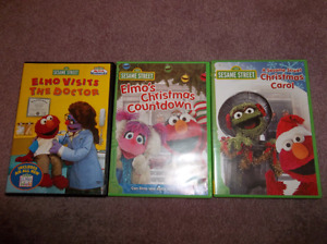 Elmo dvds