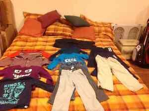 Vêtements d'hiver grandeur 4t Children's place et carters