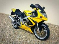 SUZUKI GSXR 750 Y - SUPERB GENUINE LOW MILEAGE STANDARD EXAMPLE - POSS PX