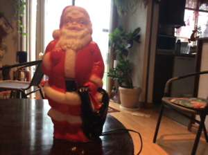 INDOOR LIGHT UP SANTA FOR CHRISTMAS