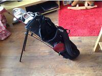 Pro staff child's golf clubs