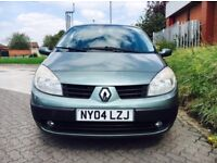 2004 Renault Scenic Expression 1.6 5 Door Hatchback ***EXCELLENT RUNNER***