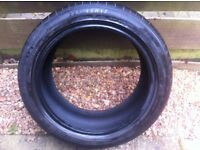 Dunlop run flat 225 45 17 tyre