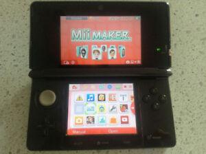 Nintendo 3DS Noir. Bon Etat.