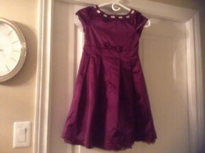 3 Girl's dresses- size 7, 2 and 8 see pics