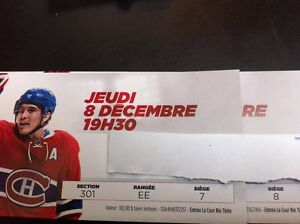 CANADIENS VS NEW JERSEY DEC 8 section 301