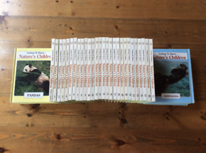 Kid's Double-Sided Nature Book Set