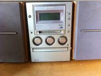 Sony Micro Cd/Mini disc/tape/radio