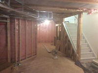 framing basement