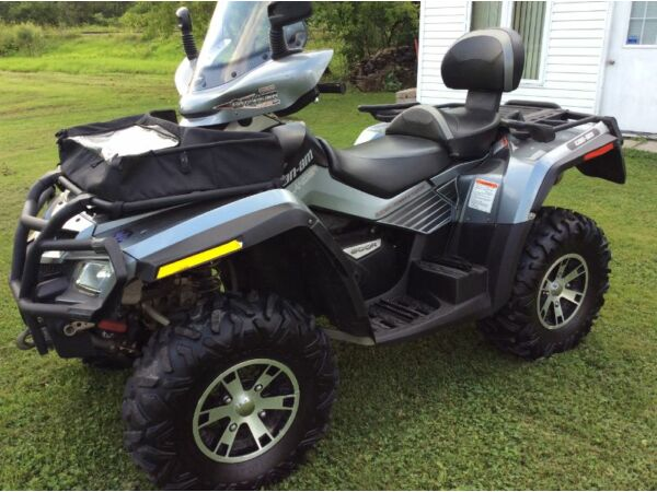Used 2009 Bombardier Can-am outlander 800 ltd