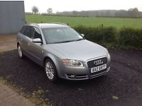 2008 Audi A4 2.0 TDI SE Avant 170 BHP 6 speed grey motd March 17 full service history
